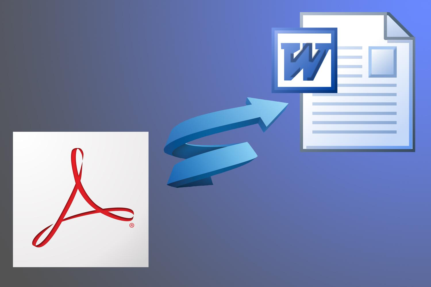 How to Convert PDF Files to Word Format (.doc, docx) free
