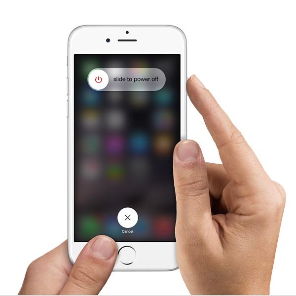 Shut Down The IPhone SE