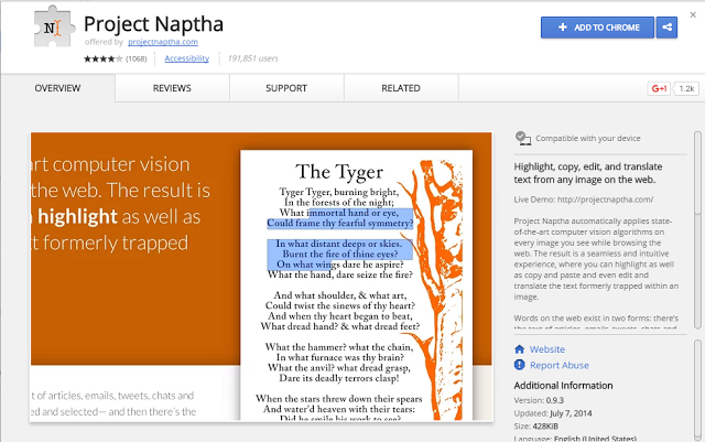 Highlight, Copy and Extract Text from any Image Online