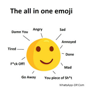 The All in One Emoji - SARCASM Quotes Pics