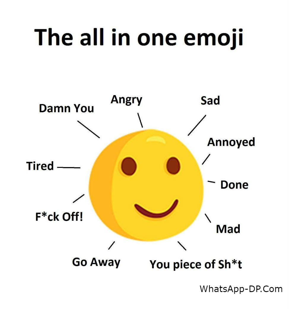 The All in One Emoji – SARCASM Quotes Pics