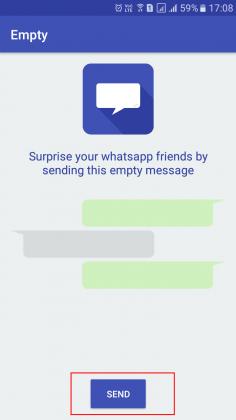 send a blank message blank message blank message in whatsapp send blank message in whatsapp send blank message
