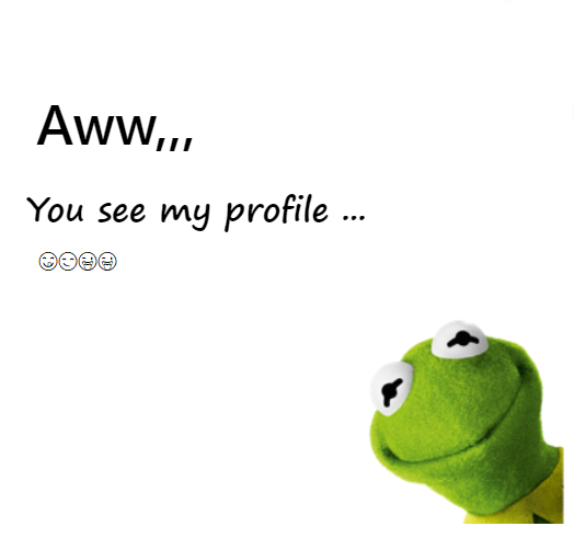 You see my profile - Fb Featured Photo
