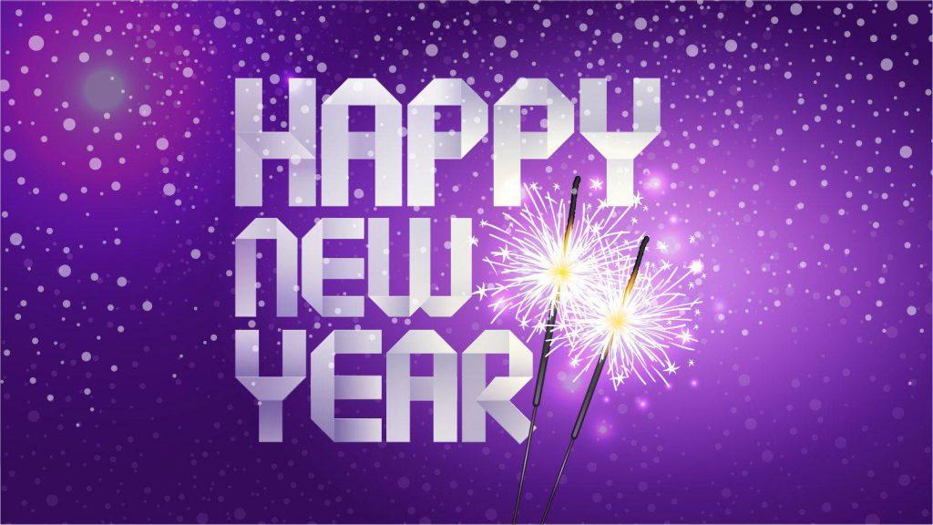 happy new year walls