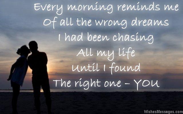 Inspiring romantic quotes for Gf