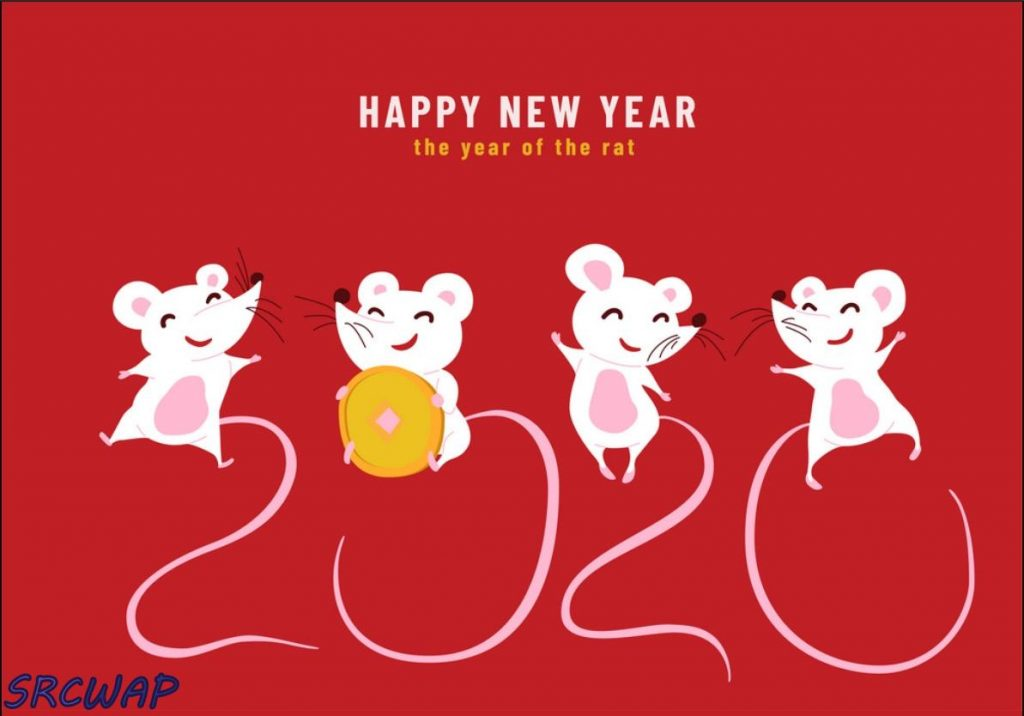 2020 Happy Chinese New Year, the year of the rat.