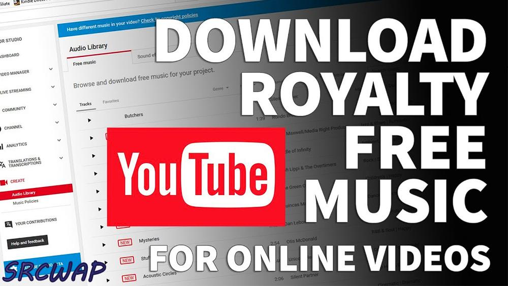 YouTube Copyright Free Background Music Library for Download