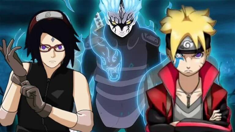 Naruto-like animations