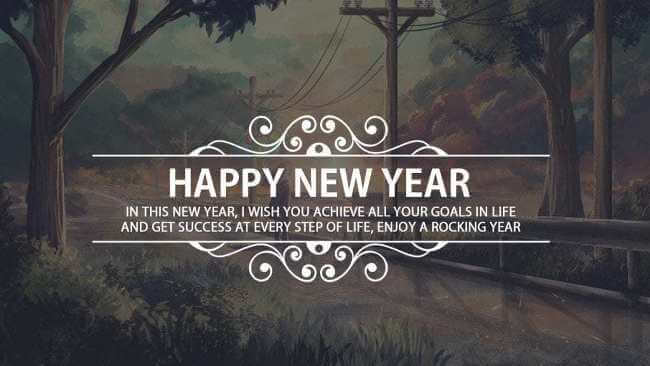 Happy New year 2021 sms success wishes