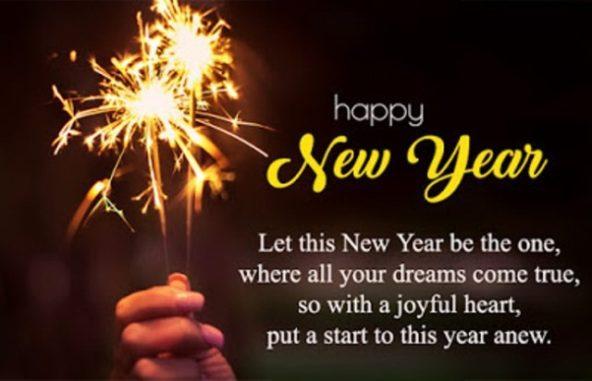 Happy New year 2021 Quotes joy HD
