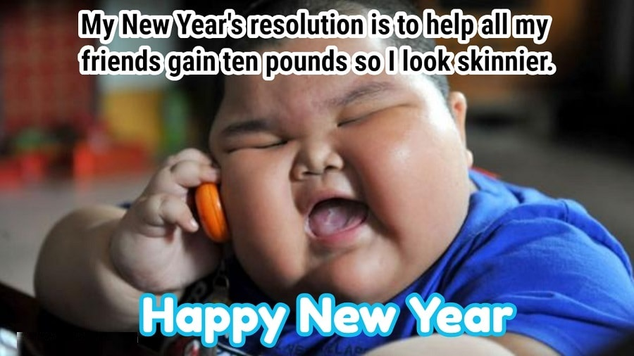 Happy new year 2021 funny kid