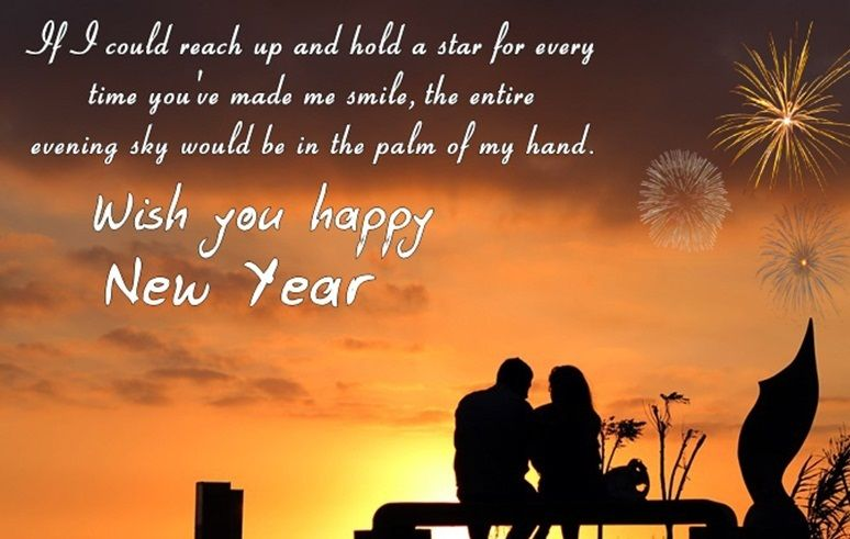 Happy new year 2021 status with evening