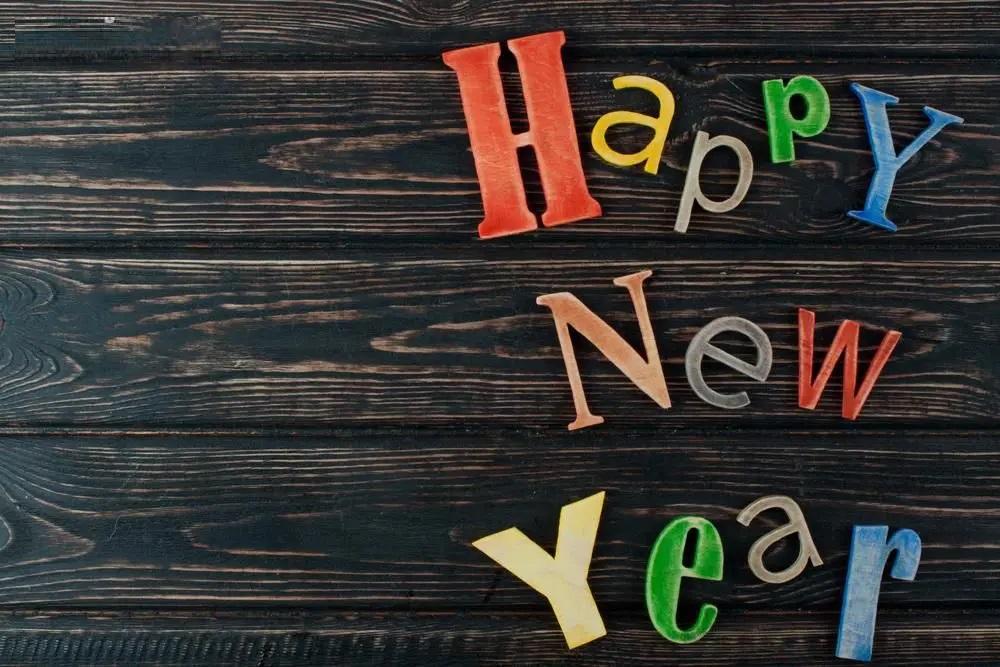 Happy new year 2021 photos wood