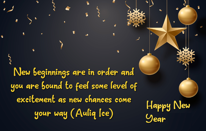 Happy New year 2021 Quotes beginning HD