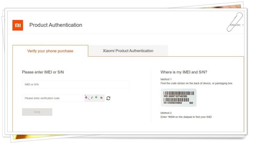 How to Do Xiaomi Product Originality Inquiry?