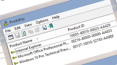 Finding Windows 10 Product Key with CMD