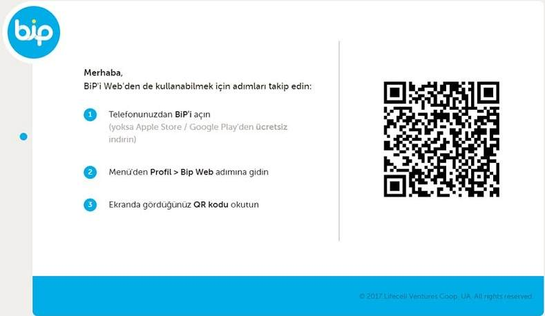 BiP Web desktop, BiP Web login, BiP Web desktop download, sending money with BiP