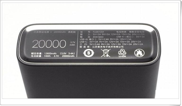 Affordable 20.000 mAh Capacity Power Banks