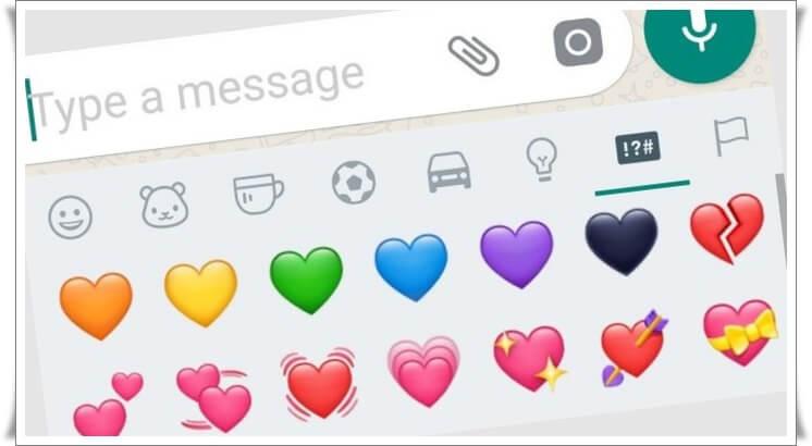 What Does WhatsApp Heart Emojis Mean?
