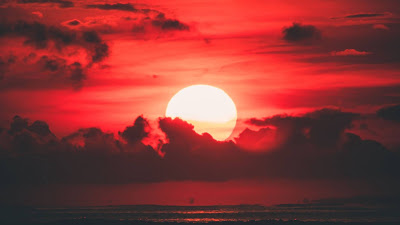 HD wallpaper Beautiful red sunset+ Download Wallpapers