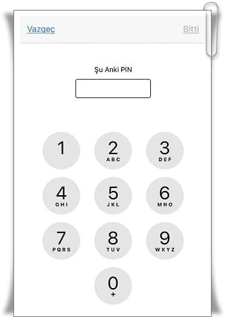 iPhone PIN Code Change - The Definitive Method
