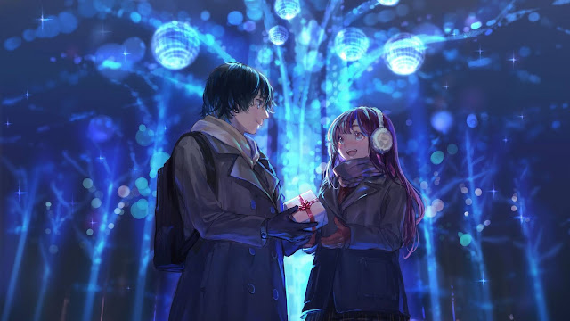 Anime pairs wallpaper+ Download Wallpapers
