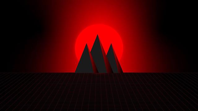 3D minimalist pyramid wallpaper+ Wallpapers Download