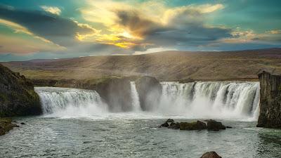 Beautiful waterfall nature wallpaper+ Wallpapers Download