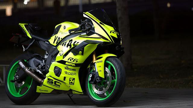 Yamaha Wallpaper, Motorcycle, Bicycle, Green, Moto+ Wallpapers Download