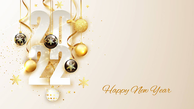 Beautiful wallpaper Happy New Year 2022+ Wallpapers Download
