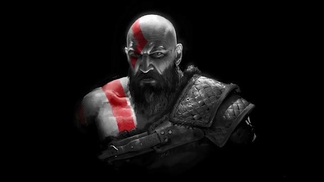 Iphone and dark Kratos table wallpaper+ Wallpapers Download