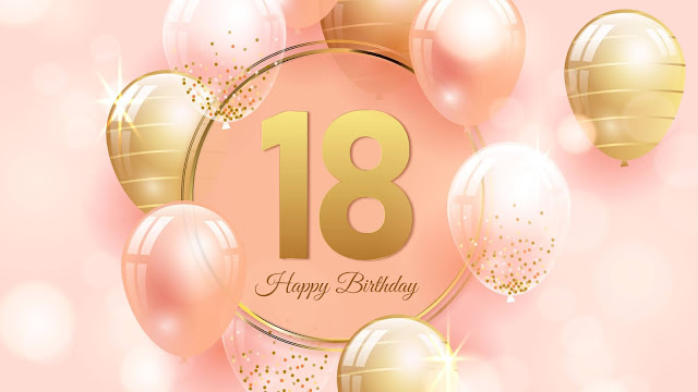 Happy birthday Wallpaper 18 years old+ Wallpapers Download