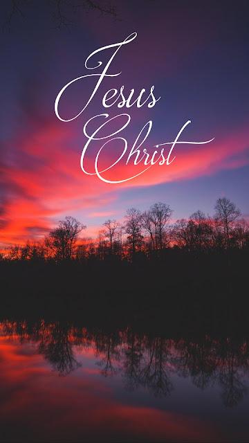 Jesus Christ evening iphone wallpaper+ Wallpapers Download