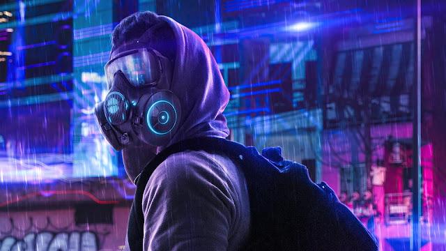 Humbie Neon Mask Tumblr Wallpaper+ Wallpapers Download