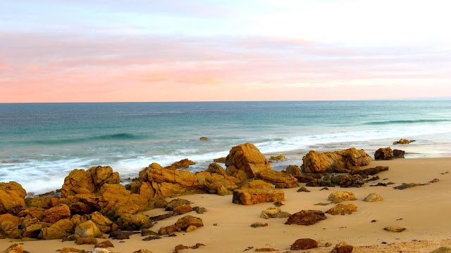 Wallpaper for beach, sand, stones, sea+ Wallpapers Download