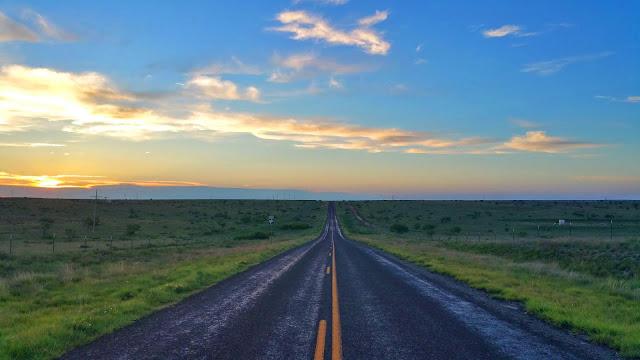 IPhone Long Road Sunset iPhone and Desktop Wallpaper+ Wallpapers Download