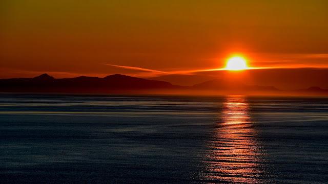 Golden Sunset Sky Sea Wallpaper+ Wallpapers Download