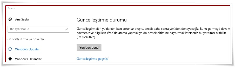 How To Fix Windows 10 0x8024002E Error?