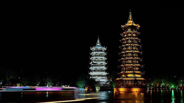 Pagoda Towers desktop wallpaper+ Wallpapers Download