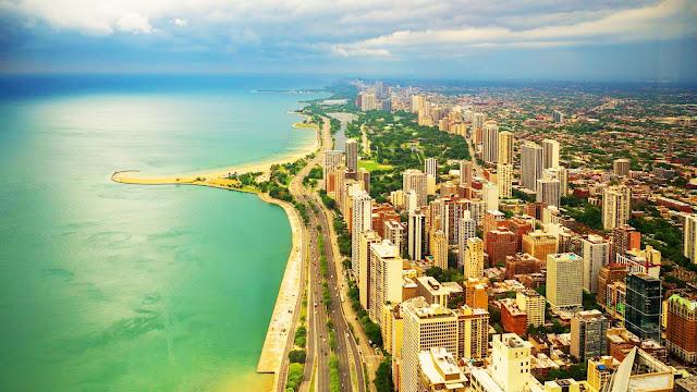 Beautiful coastal city desktop wallpaper+ Wallpapers Download