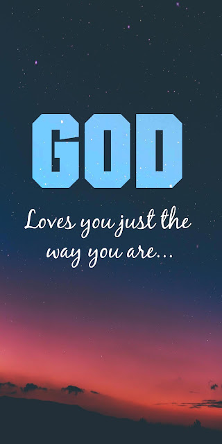 Phone wallpaper God loves you+ Wallpapers Download