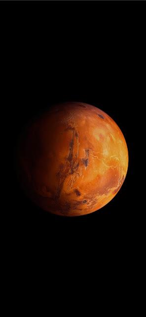 Iphone wallpaper for dark space of Mars+ Wallpapers Download