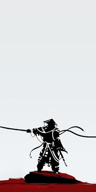 Samurai Minimalist Iphone Wallpaper+ Wallpapers Download